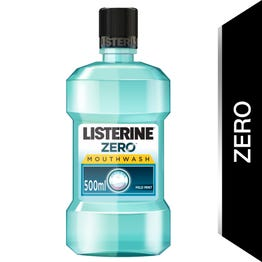Listerine Mouthwash Zero 500 ml