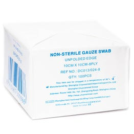 Channelmed Gauze Swabs 10*10 cm 100 pcs