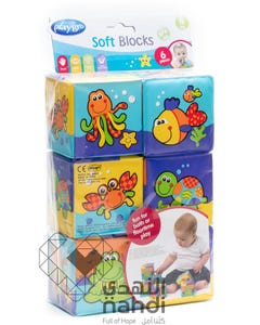 Play Gro My First Soft Blocks 6 pcs