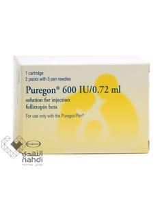 Puregon 600 IU Cartridge 1 pc (Refrigerator)