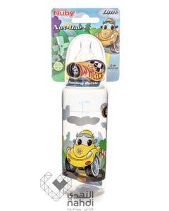 Nuby Feeding Bottle Wheelz (Bpa Free) 41255 240 ml