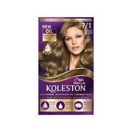 Koleston Hair Color Medium Ash Blonde 7/1