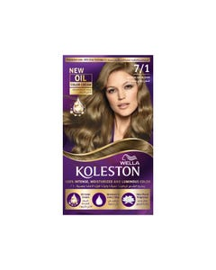 Koleston Hair Color Medium Ash Blonde 7/1