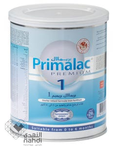 Primalac Premium Baby Milk No (1) 400 gm