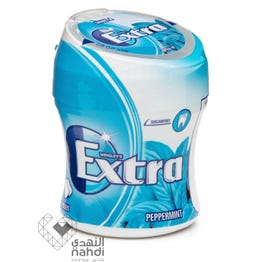 Extra Gum Bottle Sugar Free Peppermint Flavor