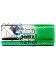 Extra Gum Professional Mints Sugar Free Gentle Tounge & Teeth Cleaner 15 pcs