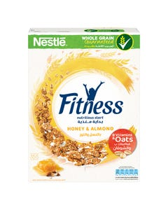 Fitness Healthy Food Honey And Almonds M 355gm
