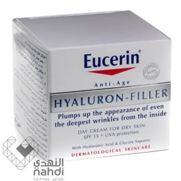Eucerin Cream Hyaluron-Filler For Day SPF 15 50ml