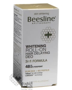 Beesline Deo Roll On Whitening & Hair Delaying 50 ml