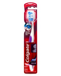 Colgate Toothbrushes 360 Optic White Medium