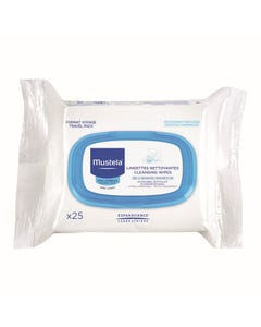 Mustela Facial Cleansing Cloth 25 pcs