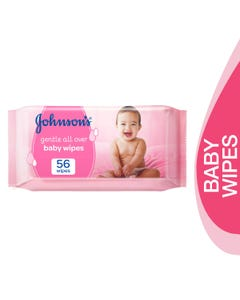 Johnson Baby Gentle Cleansing Wipes 56 pcs