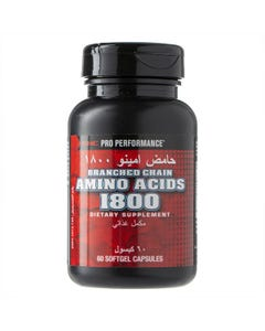 GNC Pro Performance Branched Chain Amino Acids 1800 mg 60 Caps