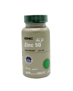 GNC Zinc 50 mg 100 Tablet