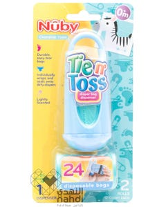 Nuby Tien Toss Diaper Bag Dispenser 24 pcs