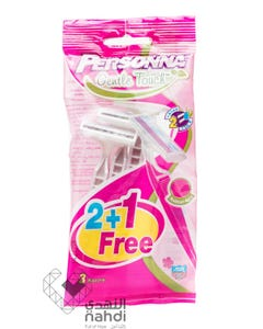 Personna Gentle Touch For Ladies Razors 2+1