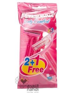 Personna Lady Comfort Razors 2+1