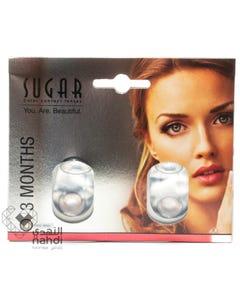 Sugar Lenses 3 Months Trio Grey