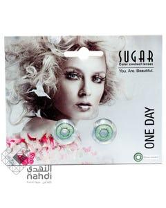 Sugar Lenses Daily Mono Green