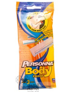 Personna Disposable Body Razors Pack of 3 pcs