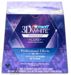 Crest 3D White Professional Effects 40 Strips