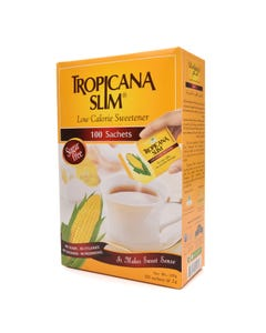 Tropicana Slim Low Calorie Sweetener 100 Sachets