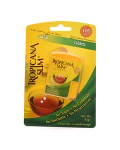 Tropicana Slim Zero Calorie Sweetener 100 Tablets