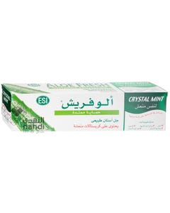 Aloefresh Gel Toothpaste With Crystal Mint Sustained Protection 100 ml