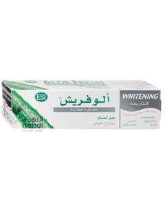 Aloefresh Gel Toothpaste Whitening Sustained Protection 100 ml