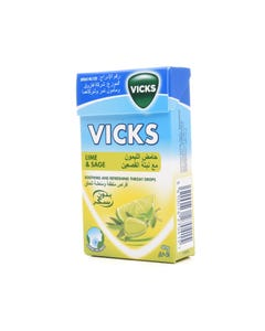 Vicks Lozenge 40 gm Lime And Sage-Sugar-Free