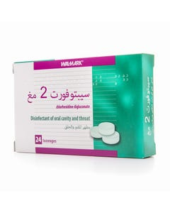 Septofort Lozenge 2 mg 24 Pcs