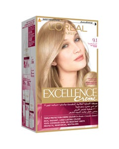 Excellence Cream Very Light Ash Blonde 9.1