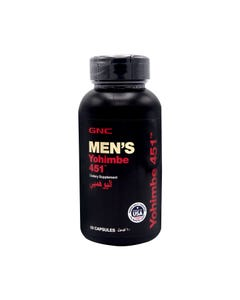 GNC Men'S Yohimbe 451 60 Caps