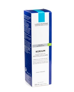 La Roche Posay Kerium Gel Shampoo Anti Dandruff Oily Scalp 200ml