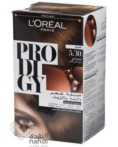 Prodigy Hair Coloring Light Golden Brown 5.30