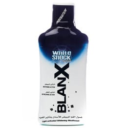 Blanx White Shock Teeth Whitening Mouthwash 500 ml