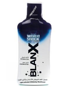 بلانكس وايت شوك مضمضة لتبييض الأسنان 500 مل