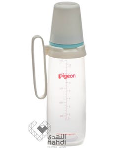 Pigeon Nursing Bottle With Handle Plastic 240 ml BPA Free