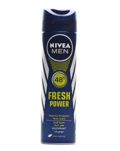 Nivea Spray Fresh Power Male 150 ml