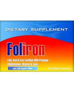 فوليرون هاش 400 ميكروجرام 30 كبسولة