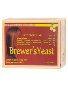 Hash Brewer's Yeast 30 Tab