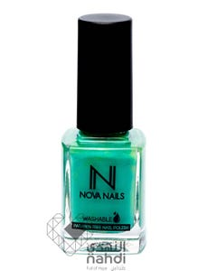Nova Nails Water Based Washable Nail Polish Jade Fusion # 51