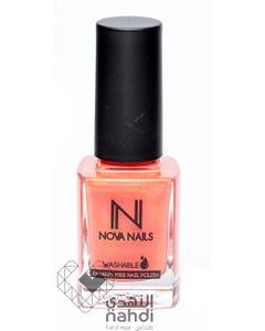 Nova Nails Water Based Washable Nail Polish Pink Peaches # 70