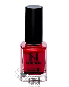 Nova Nails Water Based Washable Nail Polish Crimson Red # 80