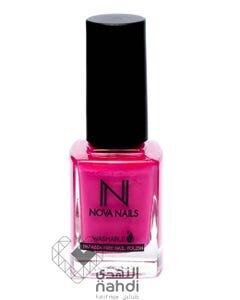 Nova Nails Water Based Washable Nail Polish Fuschia # 21