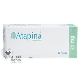Atapina Tablets 25mg 20 Pcs