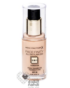 Max Factor Face Finity 3 In 1 Foundation Pearl Beige 35