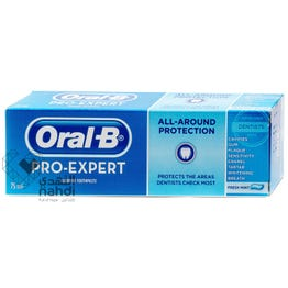 Oral-B Pro Expert Fluoride Toothpaste All - Around Protection Fresh Mint 75 ml