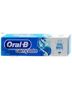 Oral-B Complete Fluoride Toothpaste Extra White 100 ml