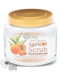 Hollywood Deep Clean Apricot With Aloe Scrub 550 gm \ 20 Oz